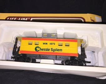 Life Like Chessie System Toy Train Car