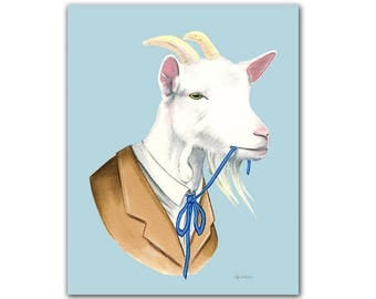 Billy Goat print 8x10