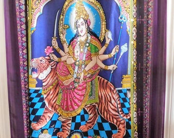 Bohemian DOOR Curtain Hindu GODDESS