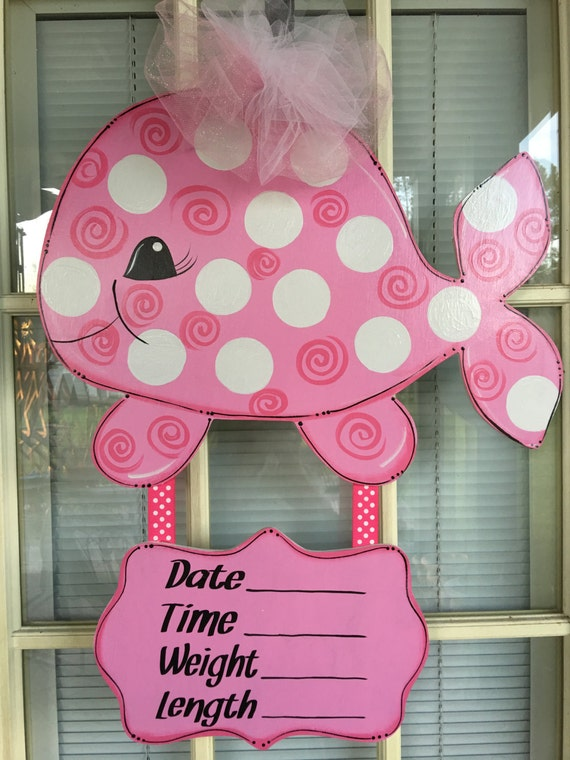 Baby hospital birth announcement baby hospital door decor for Baby hospital door decoration
