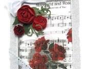 Valentine Card, Be Mine, Valentine's Day Card, I Love You Card, Fancy Valentine Card, Elegant Valentine, Luxury Card