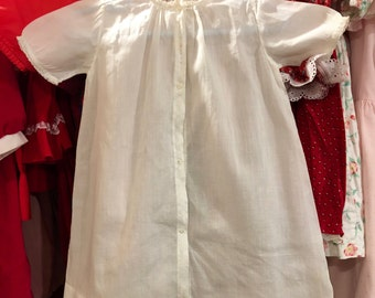 1940s Baby Gown 6/9 Months