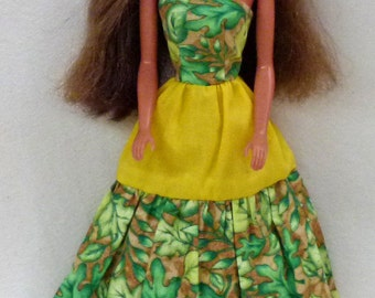 "11.5"" Fashion Doll Long Dress Handmade"