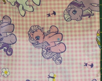 My Little Pony 100% cotton fabric by Hasbro Springs Industries FQ only