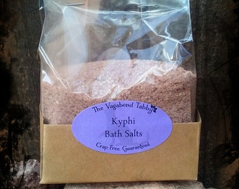 kyphi bath salts (really big)