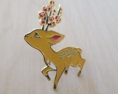 Forest Deer Spirit - Enamel Pin