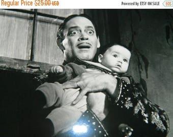 1993 Paramount Picture Adams Family Values Photograph, Production Book Photograph, by Melinda Gordon, Gomez & Pubert baby boy
