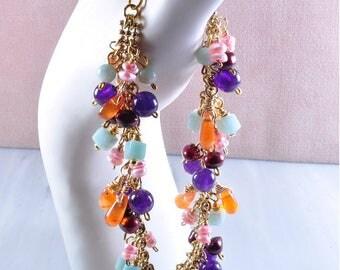 Juicy gemstone bracelet | gemstone bracelet | charm bracelet