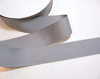 Gray Ribbon, Offray Grey Grosgrain Ribbon 1 1/2 inches wide x 10 yards