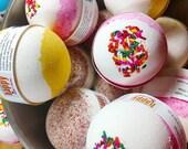 Bath Bomb. Easter Basket Gift. Bath bomb gift. Best Friend. Gift for Her. BUTTERCREAM CUPCAKE Bath Bomb. Best Friend Birthday