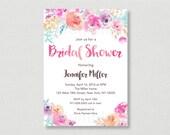 Pink Floral Bridal Shower...