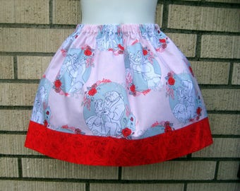 Disney's Beauty and the Beast Skirt, Girls Size 5, Ready To Ship