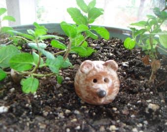 Miniature Hedgehog,Terrarium Figurine, Small Pet