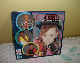 Culture Club Colour by Numbers Vinyl Record album GREAT CONDITION