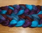 Polwarth Tussah Silk Spinning Fiber - 'As You Like It'