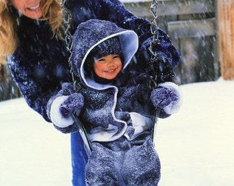 Kids Fleece Hooded Star Coat Jacket Mulberry Polartec Polarfleece Custom Jacket Fully Lined On Sale!