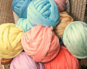Super Bulky Merino Yarn in Dozens of Colors