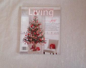 Holiday Joy Martha Stewart Living Magazine 2004