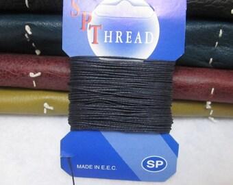 10 Metres Navy Blue Linen Thread