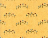 Fabric Sale! Treehouse - Yellow Wildflower Print Fabric