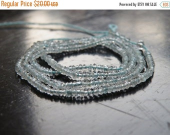 Love You 51% off Sale Aquamarine Gemstone Rondelle Blue Faceted 2mm 320 beads Full Strand