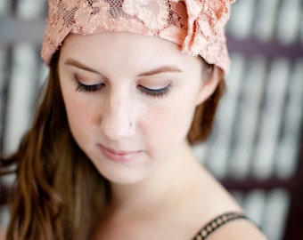 The Gatsby Lace Cap-Your choice of colors- CRBoggs Original