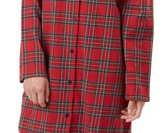Monogrammed Christmas Night Shirt