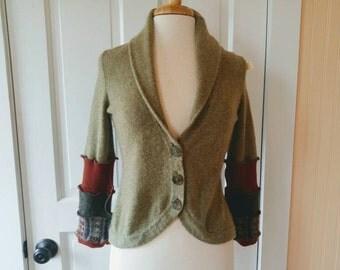 Cashmere Bolero - Eco Friendly Couture - Size Small