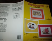Cross Stitch Charts Peaunts School Days JCA 84030 Counted Cross Stitch Leaflet Snoopy Charlie Brown