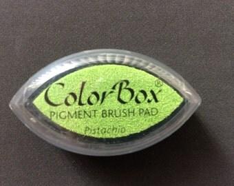 Pistachio Color Box Pigment Brush Pad