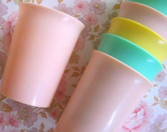Vintage Pastel Beakers - Camping - Picnics
