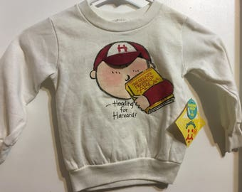 Heading for Harvard Toddler Seeatshirt