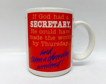 Vintage Secretary mug