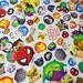 Disney and Marvel Licenced Fabric Disney Character  Disney tsum tsum and Marvel Character  fabric Print Half meter