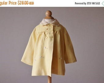 25% OFF SALE 1950s Spring Swing Jacket~Size 12 Months