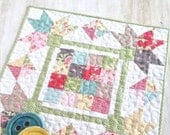 """PATTERN PICKING PETALS Mini Quilt Wall Hanging 20.5"""" square Charm Pack Friendly  We combine shipping"""