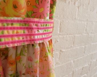 Spring Tea dress {beauty pink} size 12 -14