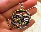Never Ending Story Inspired Auryn Necklace