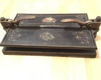 Antique Book Press, R.E. Kidder, Worcester, Ma. 1800's, Heirloom, Ephemera, Printing, Publishing.