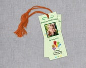 Custom Birthday Party Favors - Birthday Party Bookmarks - Bookmark Party Favors - Bookmark Favors - Personalized Party Favors