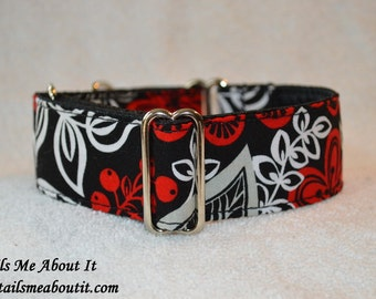 """READY TO SHIP - Martingale Dog Collar - 1.5"""" Width - Size 10""""-15"""""""