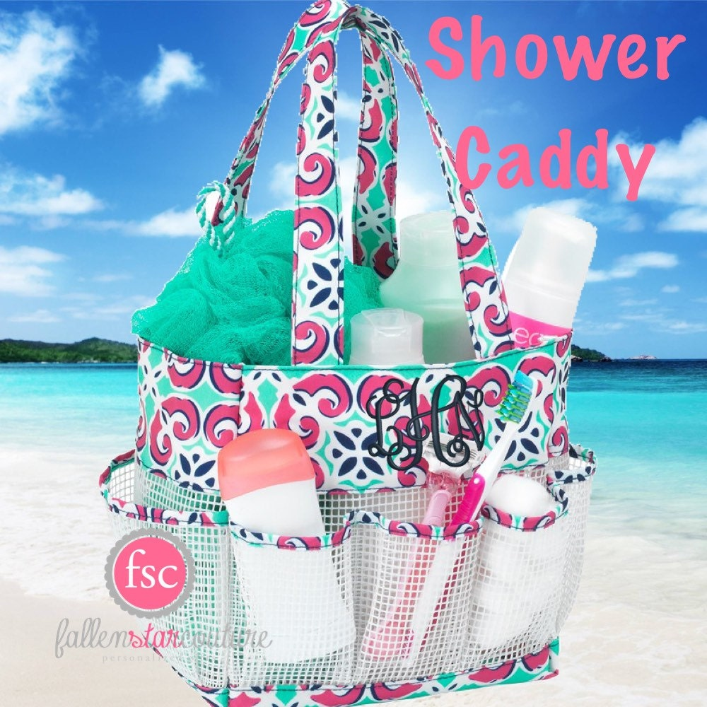 College Girl Shower Caddy Personalized Shower Caddy-7308