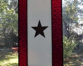 Stained Glass Gold Star Service Banner