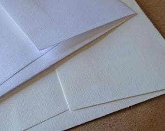 Savoy 100% Cotton A2 Envelopes 25 pack - great for Letterpress
