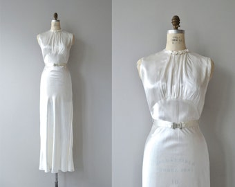 Toujours, Toujours wedding gown | vintage 1930s wedding dress | deco 30s wedding dress