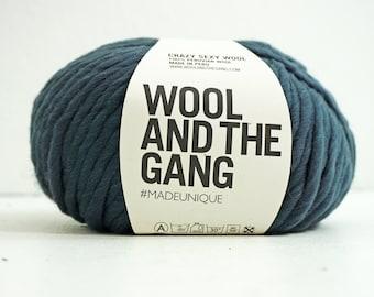 100% Peruvian wool yarn GREY