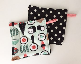 Sushi Potholder Set, Potholders, Hostess Gift, Foodie