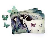 Winter Sale 20% OFF - Sleeping Beauty - Postcard