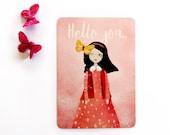 Hello you - Postcard