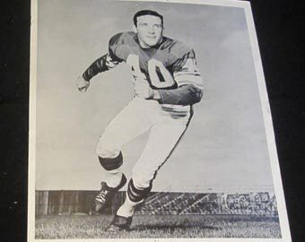 Tom Franckhauser 8x10 Press Photo Vintage 1960's Minnesota Vikings